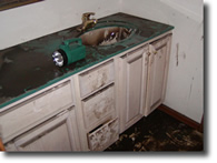 SEWAGE FLOOD DAMAGE RESTORATION SERVICE
