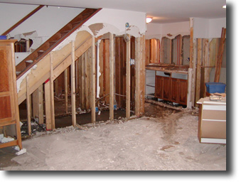 SEWAGE WATER DAMAGE RESTORATION SERVICE